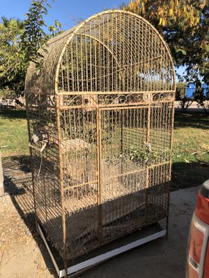Large bird cage - $400 OBO for Sale in Fresno, CA