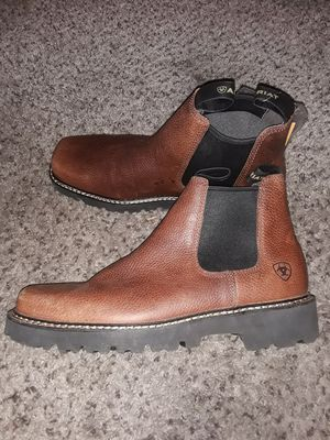 Brand New Mens Work boots Botas ARIAT Brown Size 10 for Sale in Scottsdale, AZ
