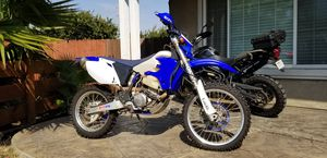 2006 Yamaha WR450f, street legal/plated, upgraded for Sale in Clayton, CA