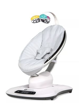 New 4Moms MamaRoo infant chair rocker cradle bouncer gray unisex boy girl mama roo 4 moms for Sale in Delray Beach, FL