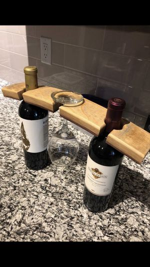 Wine Glass or Bottle Holder / or use as a flight board for Sale for sale  St. Louis, MO