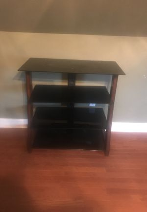 Glass tv stand for Sale in Pittsburgh, PA