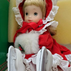 Santa's Little Skater Collector Porcelain Doll for Sale in West Palm Beach, FL