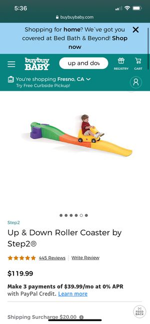 Step 2 Up & Down Roller Coaster for Sale in Fresno, CA
