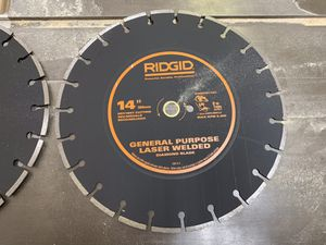 "14"" diamond cutoff saw blade for Sale in Damascus, MD"