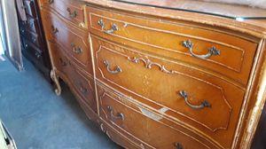 Large antique dresser for Sale in Bloomington, CA