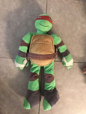 Ninja Turtle - stuffed animal (Rafael) for Sale in Davie, FL