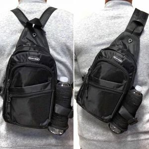Brand NEW! Black Handy Crossbody/Side Bag/Sling/Pouch/Converts To Backpack Style Straps For Everyday Use/Work/Traveling/Outdoors/Jogging/Hiking/Biking for Sale in Carson, CA