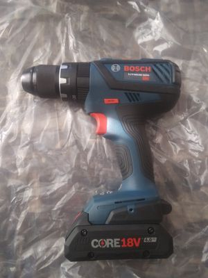 Bosch hammer drill one battery no charger for Sale in Garner, NC