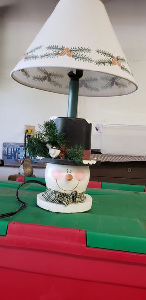 CHRISTMAS LAMP for Sale in Garden Grove, CA