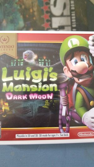 Luigi's Mansion Dark Moon (Nintendo 3DS) for Sale in El Cajon, CA