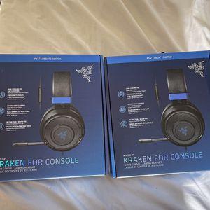 Razer Kraken Gaming Headset for Sale in Hayward, CA