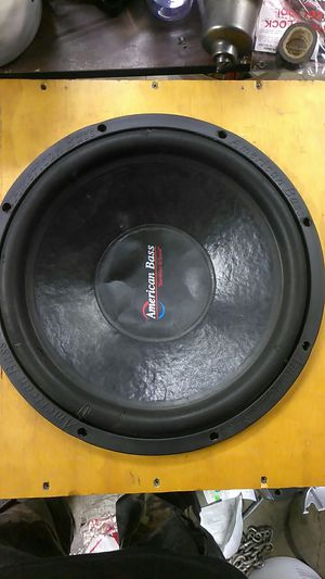 15in subwoofer for Sale in Columbus, OH