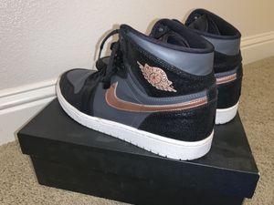 Jordan 1 Retro High Bronze Metal Size 12 for Sale in Lincoln, CA