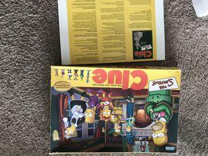 Simpson's clue game for Sale in Miami, FL