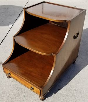 Antique Vtg KITTINGER FURNITURE Co Buffalo End Table with Drawer 19.8.21 for Sale in Palm Springs, FL
