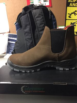 Hytest steel toe boots(new) for Sale in Chesapeake, VA