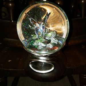 Butterfly Water Globe Glitter And Music for Sale in Marysville, WA