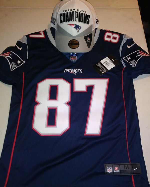 Gronk jersey youth w/ hat
