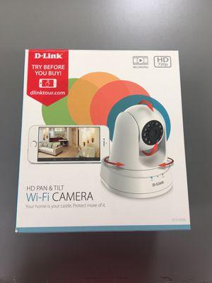 D-link HD Pan & Tilt Wi-Fi Camera for Sale in Salt Lake City, UT