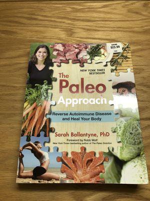 Paleo cooking book for Sale in Chula Vista, CA