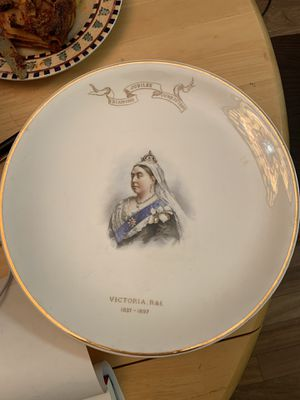 Rare china plate collection - 5 plates (Johnson bro's., t&v, copelane ... for Sale in Leland, MI