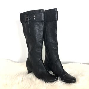 Kenneth Cole Reaction boots 8.5 Medium black for Sale in Fontana, CA