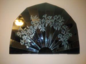 Oriental Fan Mirror for Sale in Plainfield, IL