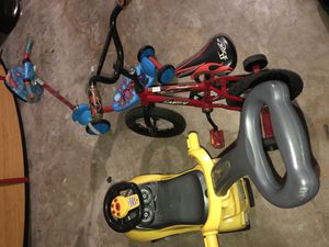 Tricycle, scooter, push toy for Sale in Orlando, FL