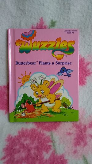 Vintage Wuzzles Butterbear Plants A Surprise for Sale in Tacoma, WA