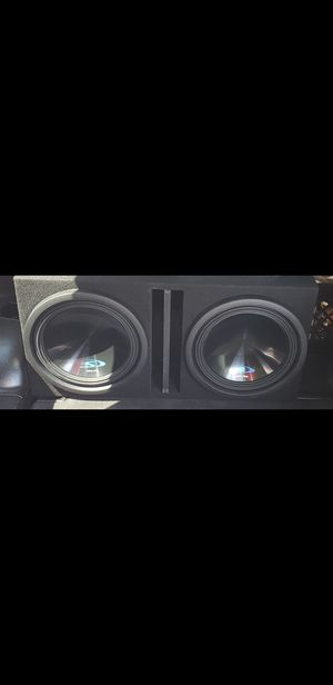 """12"""" alpine subwoofers in box for Sale in Raleigh, NC"""