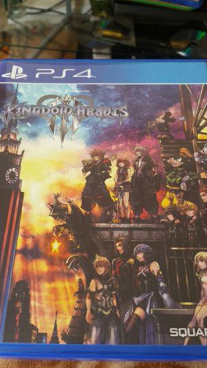 Kingdom Hearts 3 for Sale in Chicago, IL