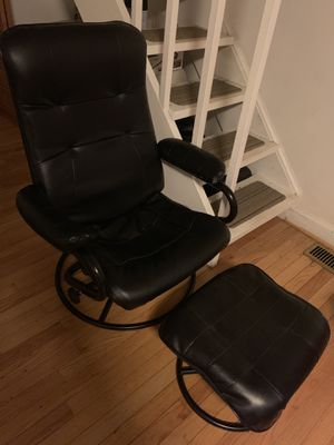 Reclining chair and ottoman for Sale in Annandale, VA