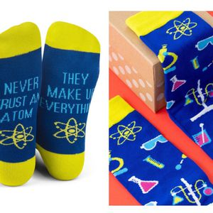 'Never trust An Atom' Socks for Sale in Indian Head, MD