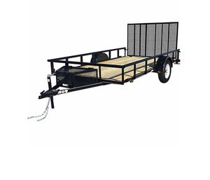 New 2019 12x7 utility landscaping trailer cage cargo for Sale in St. Cloud, FL