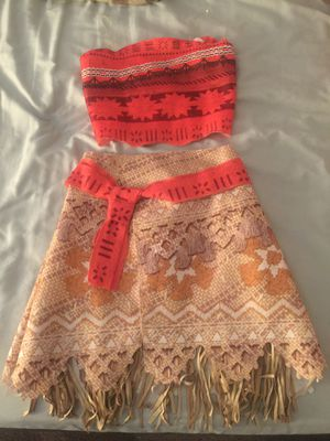 Moana 2 piece dress up for Sale in Bell Gardens, CA