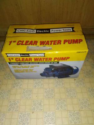 1 inch clear water pump for Sale in Oak Lawn, IL