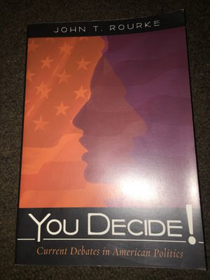 You Decide current debates in American Politics for Sale in Fresno, CA
