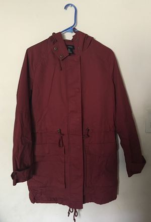 Brand new Forever 21 rust color parka for Sale in Los Angeles, CA