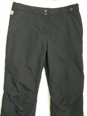WOMENS 14 (Large) SHORT OBERMEYER 38x28 Hydroblock Black Insulated Ski Snowboard Pants for Sale in Phoenix, AZ