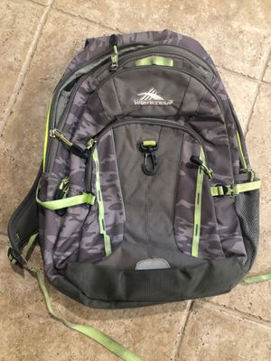 High Sierra Backpack for Sale in Tracy, CA