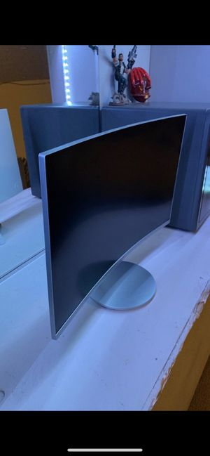 24 in Samsung curved monitor for Sale in Lynnwood, WA