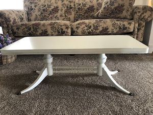 Very Nice Off-White Antique Coffee Table! for Sale in West Jordan, UT