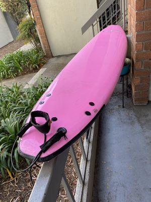 "Pink Liquid Shredder 8' 2"" Long Surf Board for Sale in Huntington Beach, CA"