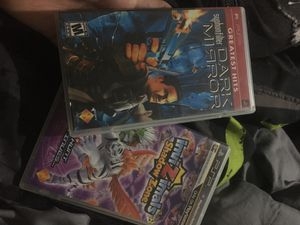 PSP Syphonfilter Dark Mirror and InviZimals Shadow Zone for Sale in US