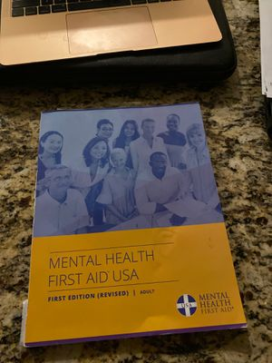 Mental Health First Aid USA for Sale in Glendale, AZ