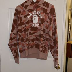 BAPE Hoodie Pink Camo USA Women's Size S for Sale in Potomac,  MD