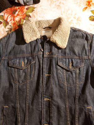 Old navy jacket men L sherpa for Sale in Los Angeles, CA