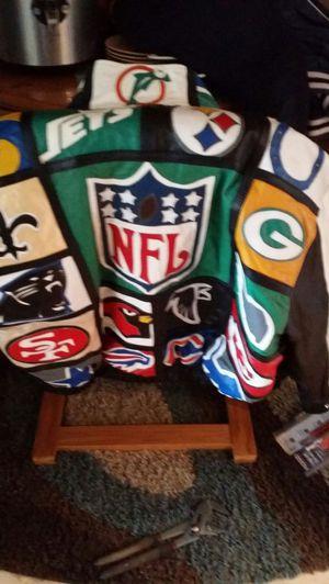 Custom Made NFL LEATHER COAT for Sale in Sun City, AZ