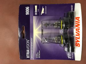 Sylvania 9006 halogen headlights for Sale in Vista, CA